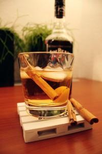 Ginger kaneel cocktail