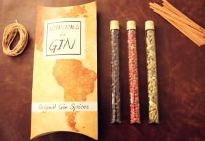 Gin Botanicals geschenkverpakking