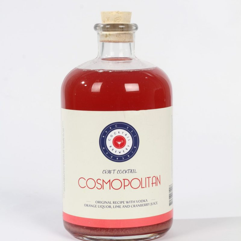 craft cocktail cosmopolitan horeca