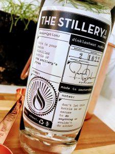 Afbeelding van een fles Nederlandse Wodka van the stillery